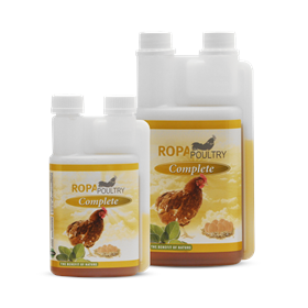 small flock guidelines: boost immune health with supplements like ROPA (pictured)