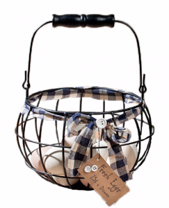 chicken gift - egg basket