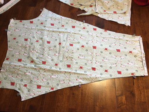 chicken leggings fabric cut out